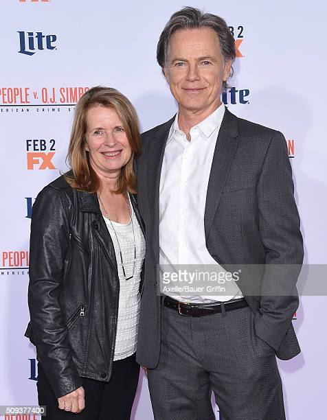Actor Bruce Greenwood and wife Susan Devlin arrive at the premiere of 'FX's 'American Crime Story - The People V. O.J. Simpson' at Westwood Village...