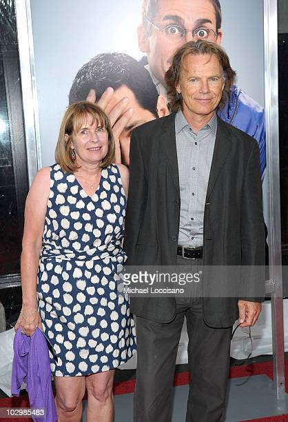 Actor Bruce Greenwood and wife Susan Devlin attend the Dinner For Schmucks premiere at the Ziegfeld Theatre on July 19 2010 in New York City