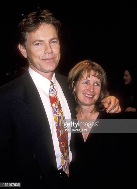 Actor Bruce Greenwood and wife Susan Devlin attend the Double Jeopardy New York City Premiere on September 23 1999 at the Guild 50th Street Theater...
