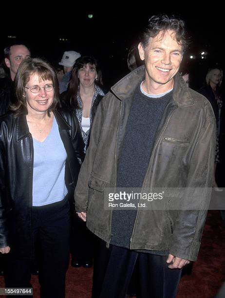 Actor Bruce Greenwood and wife Susan Devlin attend the Mamma Mia Opening Night Performance on February 26 2001 at Shubert Theatre in Century City...
