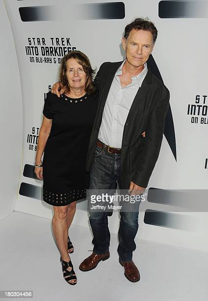 Actor Bruce Greenwood and wife Susan Devlin attend the Paramount Pictures' celebration of the Blu-Ray and DVD debut of 'Star Trek: Into Darkness' at...