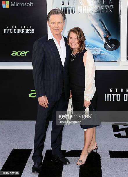 Actor Bruce Greenwood and wife Susan Devlin attend the premiere of Paramount Pictures' Star Trek Into Darkness at the Dolby Theatre on May 14 2013 in...