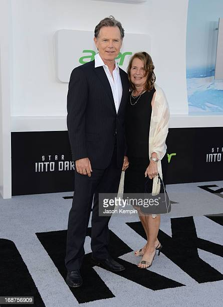 Actor Bruce Greenwood and wife Susan Devlin attend the premiere of Paramount Pictures' Star Trek Into Darkness at Dolby Theatre on May 14 2013 in...