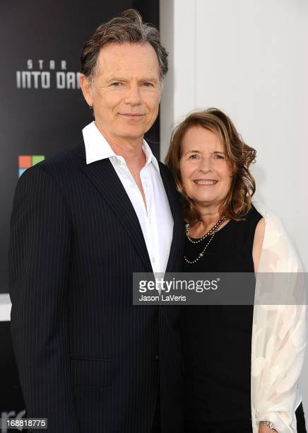 """Actor Bruce Greenwood and wife Susan Devlin attend the premiere of """"Star Trek Into Darkness"""" at Dolby Theatre on May 14, 2013 in Hollywood,..."""
