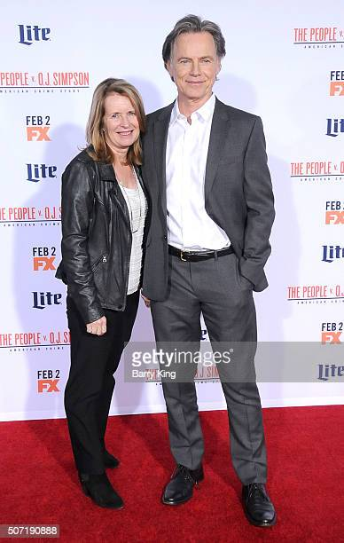 Actor Bruce Greenwood and wife Susan Devlin attend the premiere of 'FX's 'American Crime Story - The People v. O.J. Simpson' at the Westwood Village...