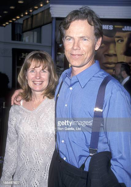 Actor Bruce Greenwood and wife Susan Devlin attend the Rules of Engagement Westwood Premiere on April 2 2000 at Mann Village Theatre in Westwood...
