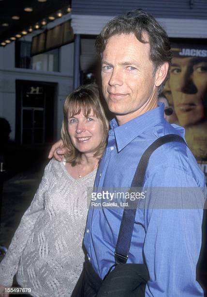 Actor Bruce Greenwood and wife Susan Devlin attend the Rules of Engagement Westwood Premiere on April 2, 2000 at Mann Village Theatre in Westwood,...