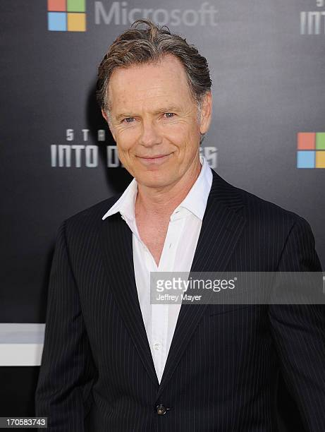 Actor Bruce Greenwood arrives at the Los Angeles premiere of 'Star Trek: Into Darkness' at Dolby Theatre on May 14, 2013 in Hollywood, California.