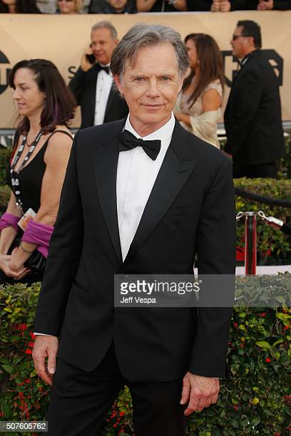 Actor Bruce Greenwood attends the 22nd Annual Screen Actors Guild Awards at The Shrine Auditorium on January 30 2016 in Los Angeles California