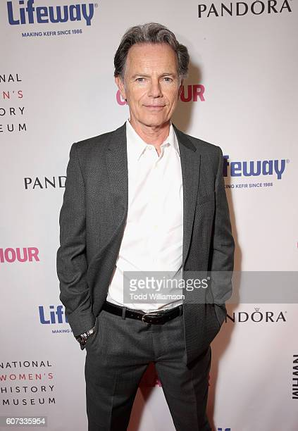 Actor Bruce Greenwood attends the National Women's History Museum 5th Annual Women Making History Brunch presented by Glamour and Lifeway Foods at...