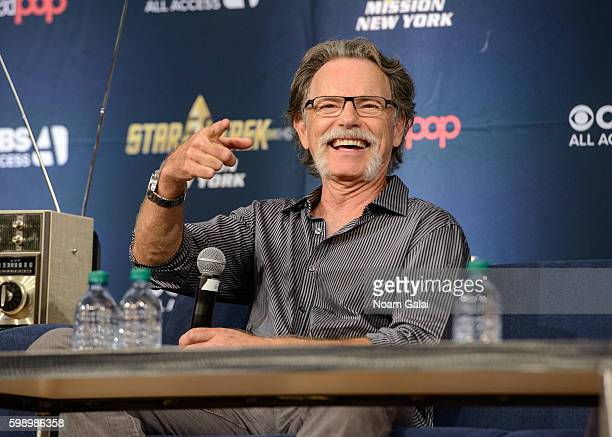 Actor Bruce Greenwood attends the Star Trek Mission New York at The Jacob K Javits Convention Center on September 3 2016 in New York City