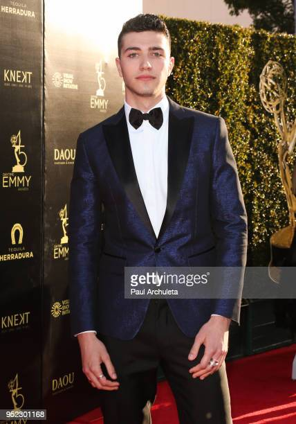 Actor Bruce HerbelinEarle attends the 45th Annual Daytime Creative Arts Emmy Awards at the Pasadena Civic Auditorium on April 27 2018 in Pasadena...