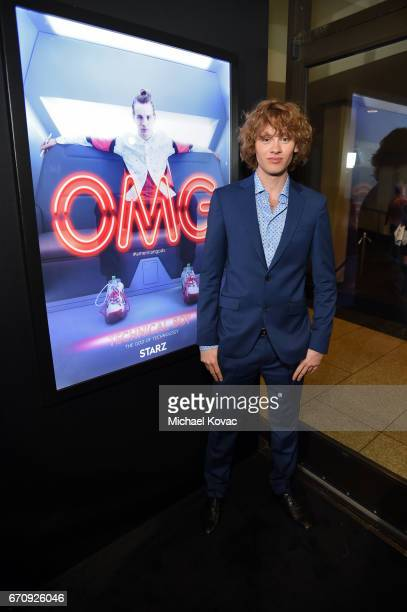 Actor Bruce Langley attends the American Gods premiere at ArcLight Hollywood on April 20 2017 in Los Angeles California