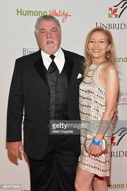 Actor Bruce McGill and Gloria Lee attend the 2014 Unbridled Eve Derby Gala during the 140th Kentucky Derby at Galt House Hotel Suites on May 2 2014...