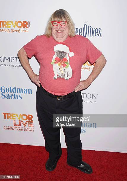 Actor Bruce Vilanch attends the TrevorLIVE Los Angeles 2016 Fundraiser at the Beverly Hilton Hotel on December 04 2016 in Beverly Hills California