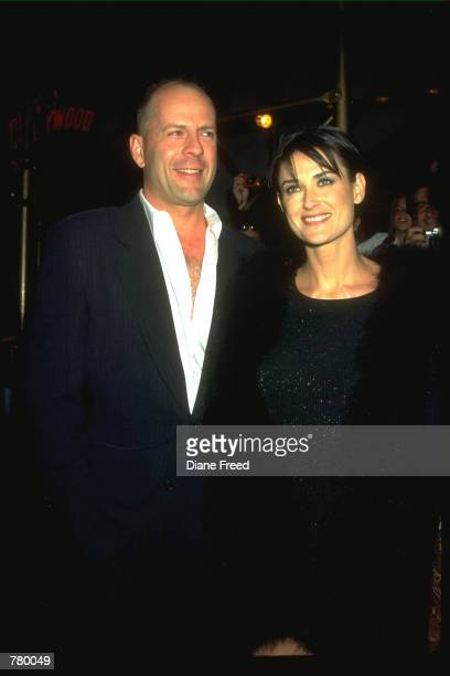 Actor Bruce Willis and actress Demi Moore On October 25 it has been reported that the couple who separated in 1998 filed for a divorce at a...