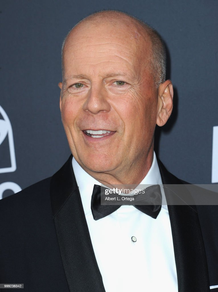 Actor Bruce Willis arrives for the Comedy Central Roast Of Bruce Willis held at Hollywood Palladium on July 14, 2018 in Los Angeles, California.