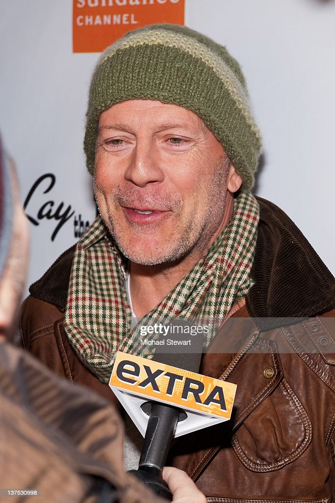 Actor Bruce Willis attends Directv and Sundance Channel Host