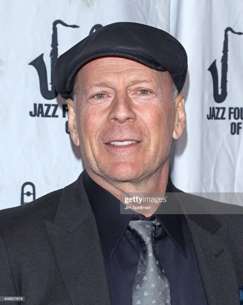 Actor Bruce Willis attends the 16th Annual A Great Night In Harlem Gala at The Apollo Theater on April 20, 2018 in New York City.
