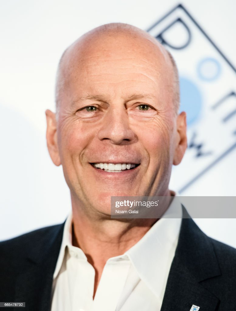 actor bruce willis attends the 2017 room to grow spring. Black Bedroom Furniture Sets. Home Design Ideas