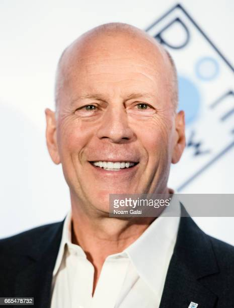 Actor Bruce Willis attends the 2017 Room To Grow Spring Benefit at Guastavino's on April 5 2017 in New York City