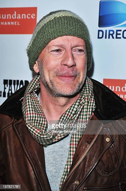 Actor Bruce Willis attends the 'Lay the Favorite' after party held at Goodnight Gansevoort at The ONE Group House on January 21 2012 in Park City Utah