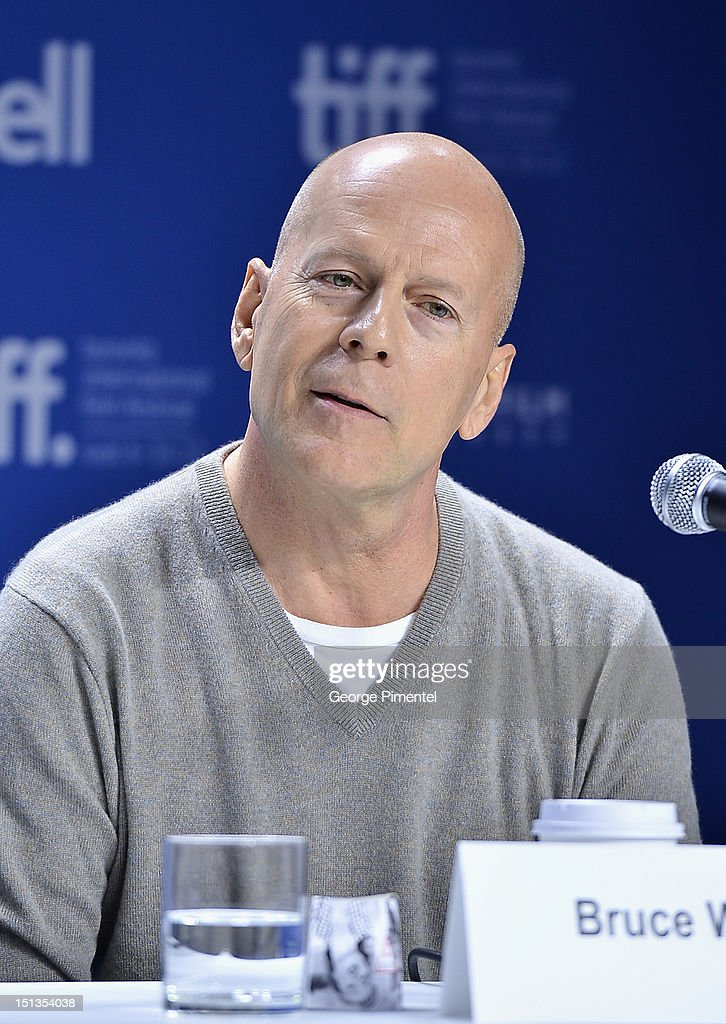 Actor Bruce Willis attends the 'Looper' press conference during the 2012 Toronto International Film Festival at TIFF Bell Lightbox on September 6, 2012 in Toronto, Canada.