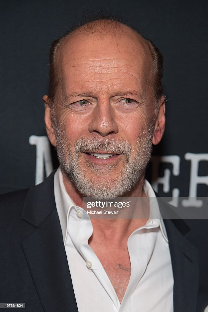 Actor Bruce Willis attends the 'Misery' Broadway opening night after party at TAO Downtown on November 15, 2015 in New York City.