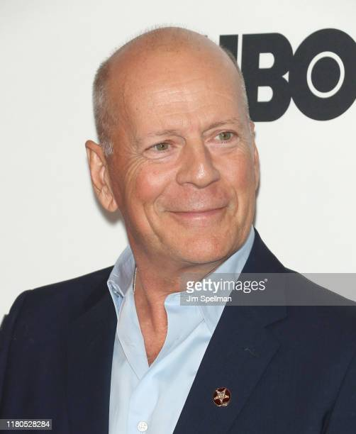 """Actor Bruce Willis attends the """"Motherless Brooklyn"""" premiere during the 57th New York Film Festival on October 11, 2019 in New York City."""