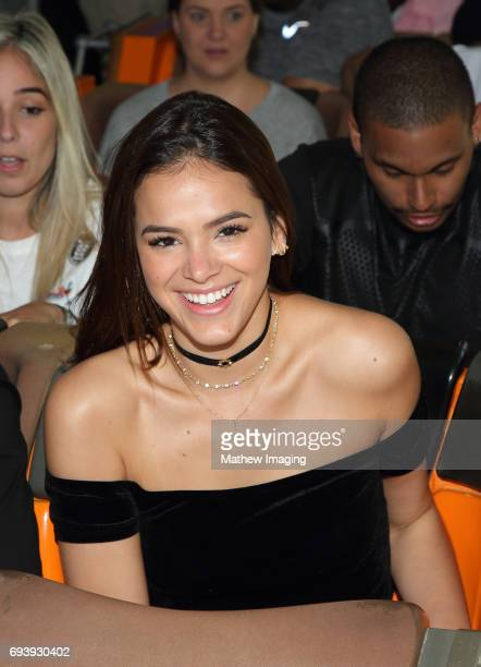 Actor Bruna Marquezine took a ride on Twisted Colossus at Six Flags Magic Mountain on June 8 2017 in Valencia California