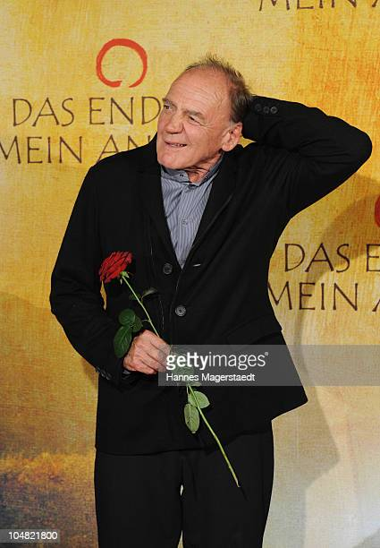 Actor Bruno Ganz attends the premiere of 'Das Ende Ist Mein Anfang' at the City Kino on October 5 2010 in Munich Germany