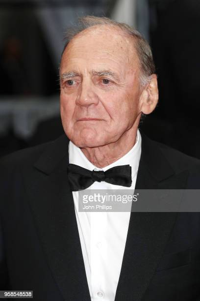 Actor Bruno Ganz attends the screening of The House That Jack Built during the 71st annual Cannes Film Festival at Palais des Festivals on May 14...