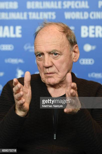 Actor Bruno Ganz attends the 'The Party' press conference during the 67th Berlinale International Film Festival Berlin at Grand Hyatt Hotel on...