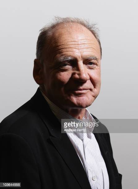 Actor Bruno Ganz poses during a private photo session on August 26 2010 in Berlin Germany