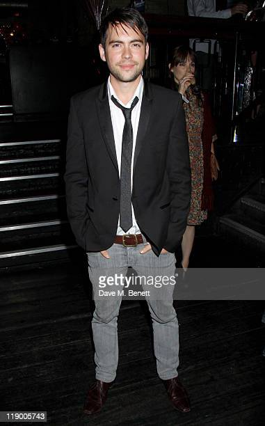 Actor Bruno Langley attends the Legally Blonde cast change party at the Opal Bar on July 13 2011 in LondonEngland carley stenson