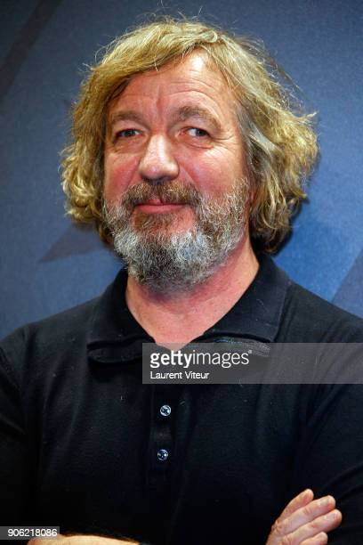 Actor Bruno Lochet attends 'Comme des Garcons' Premiere during the 21st Alpe D'Huez International Comedy Film Festival on January 17 2018 in Alpe...