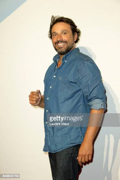 Actor Bruno Salomone attends 19th Festival of TV Fiction Opening Ceremony on September 13 2017 in La Rochelle France