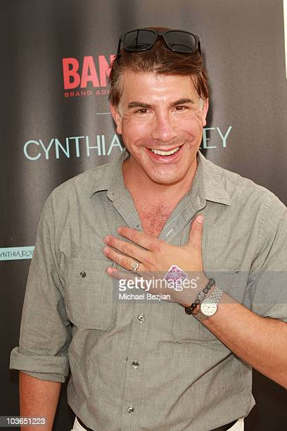 Actor Bryan Batt at the BandAid booth during Kari Feinstein Primetime Emmy Awards Style Lounge Day 1 held at Montage Beverly Hills hotel on August 26...