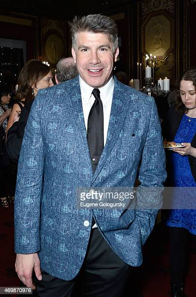 Actor Bryan Batt attends as Moet Chandon toasts to opening night of Broadway's Finding Neverland on April 15 2015 in New York City