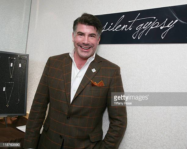 Actor Bryan Batt attends GBK's Gift Lounge for the 2010 Golden Globes Nominees and Presenters Day 2 at the Mondrian Hotel on January 16 2010 in West...