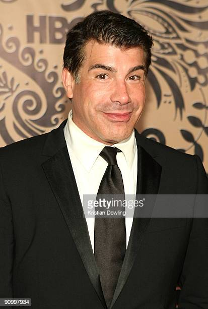 Actor Bryan Batt attends HBO's post Emmy Awards reception at the Pacific Design Center on September 20 2009 in West Hollywood California