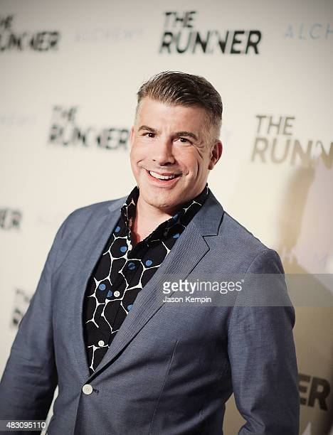Actor Bryan Batt attends Paper Street Films' Screening Of The Runner at TCL Chinese 6 Theatres on August 5 2015 in Hollywood California