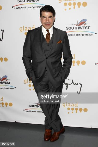 Actor Bryan Batt attends the 2009 GLAAD Media Awards at New World Stages on October 27 2009 in New York City