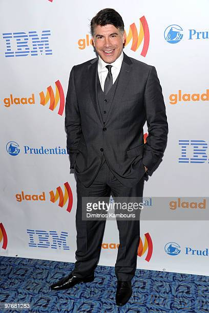 Actor Bryan Batt attends the 21st Annual GLAAD Media Awards at The New York Marriott Marquis on March 13, 2010 in New York, New York.