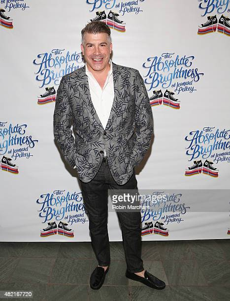 Actor Bryan Batt attends The Absolute Brightness Of Leonard Pelkey Off Broadway Opening Night at The Westside Theatre on July 27 2015 in New York City