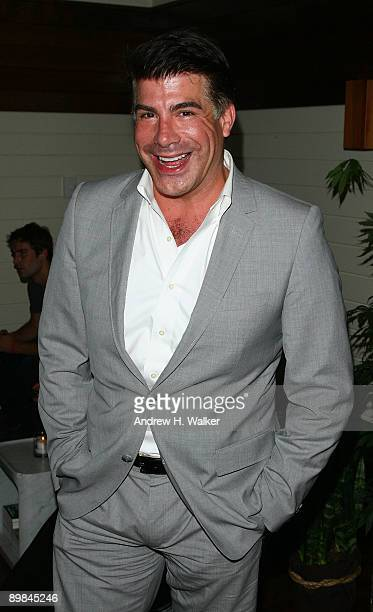 Actor Bryan Batt attends the after party for The Cinema Society Hugo Boss screening of Inglourious Basterds at The Standard Hotel on August 17 2009...