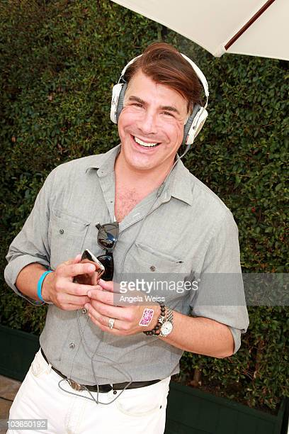 Actor Bryan Batt attends the Kari Feinstein Primetime Emmy Awards Style Lounge Day 1 held at Montage Beverly Hills hotel on August 26 2010 in Beverly...