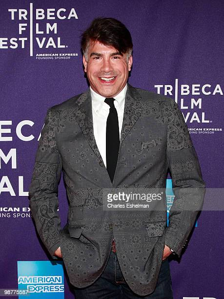 Actor Bryan Batt attends the Ultrasuede In Search of Halston premiere during the 9th Annual Tribeca Film Festival at the SVA Theater on April 30 2010...