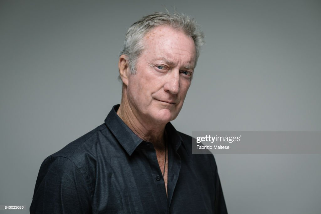 Actor Bryan Brown is photographed on September 7, 2017 in Venice, Italy.