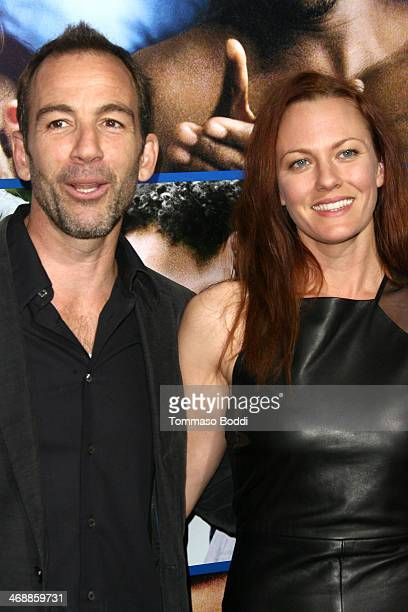 Actor Bryan Callen and Amanda Humphrey attend the The Pan African Film Arts Festival premiere of About Last Night held at the ArcLight Cinemas...